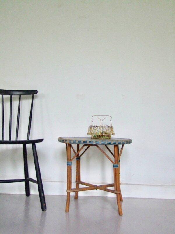 Table_rotin vintage