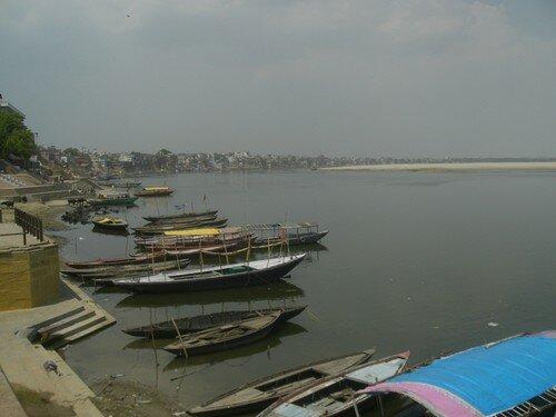 Les ghats, Varanasi