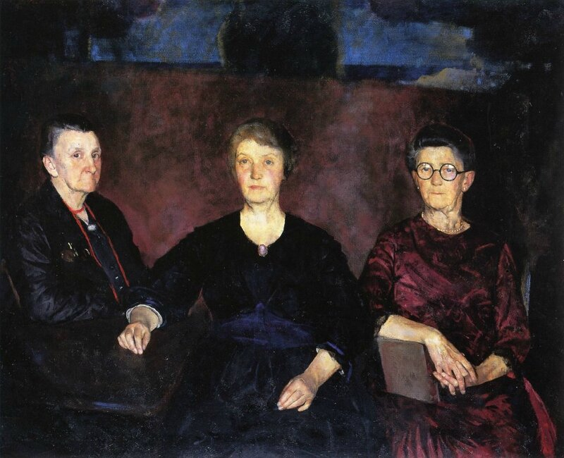 Charles-W-Hawthorne -Three-Women-of-Provincetown