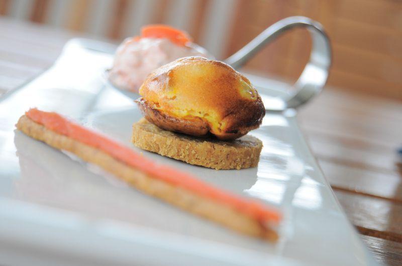 apéritif saumon fumé