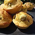 Muffins fromage/olives du blog graines de ble pour un tour en cuisine