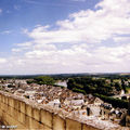Vue sur la Vienne et Chinon depuis le Château