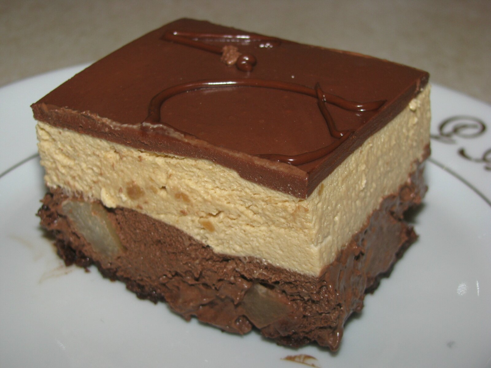 Chocolate Dacquoise Picture