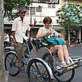 HO CHI MINH VILLE en cyclopousse