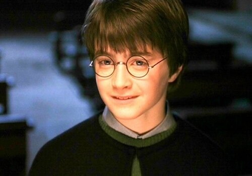 Daniel Radcliffe- dans Harry Potter 2001