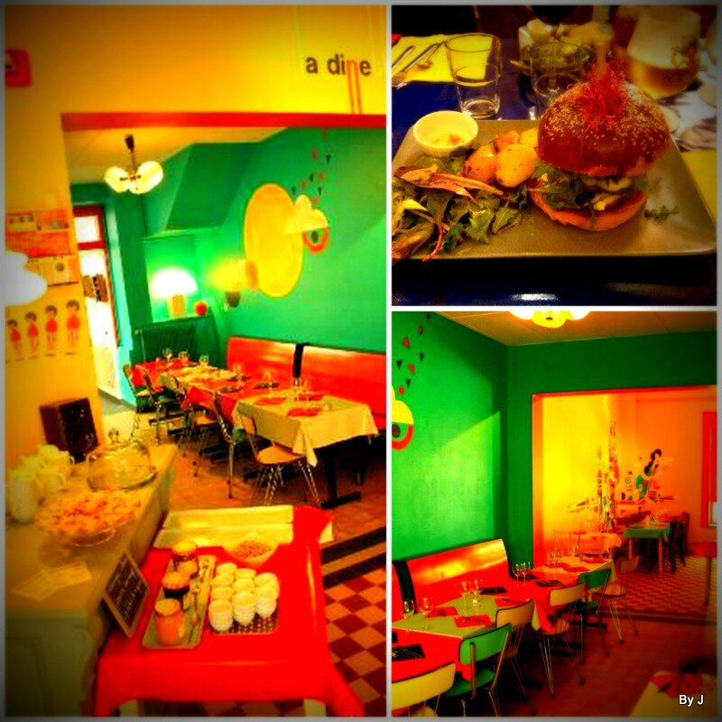 Restaurant la dinette vieux lille little marmous for Kidzou lille