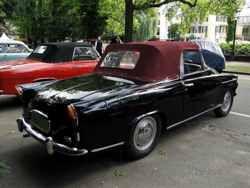 skoda felicia roadster 1960 b
