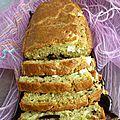 Cake courgette/feta