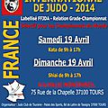 Masters international de judo tours 2014