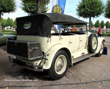 Daimler Benz type Mannheim 350 de 1929 (9ème Classic Gala de Schwetzingen 2011) 02
