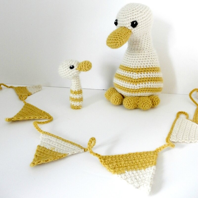 baby ducklings - Anisbee for My Little Box Of Crochet