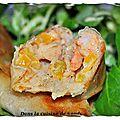 Bricks de crevettes à la vanille