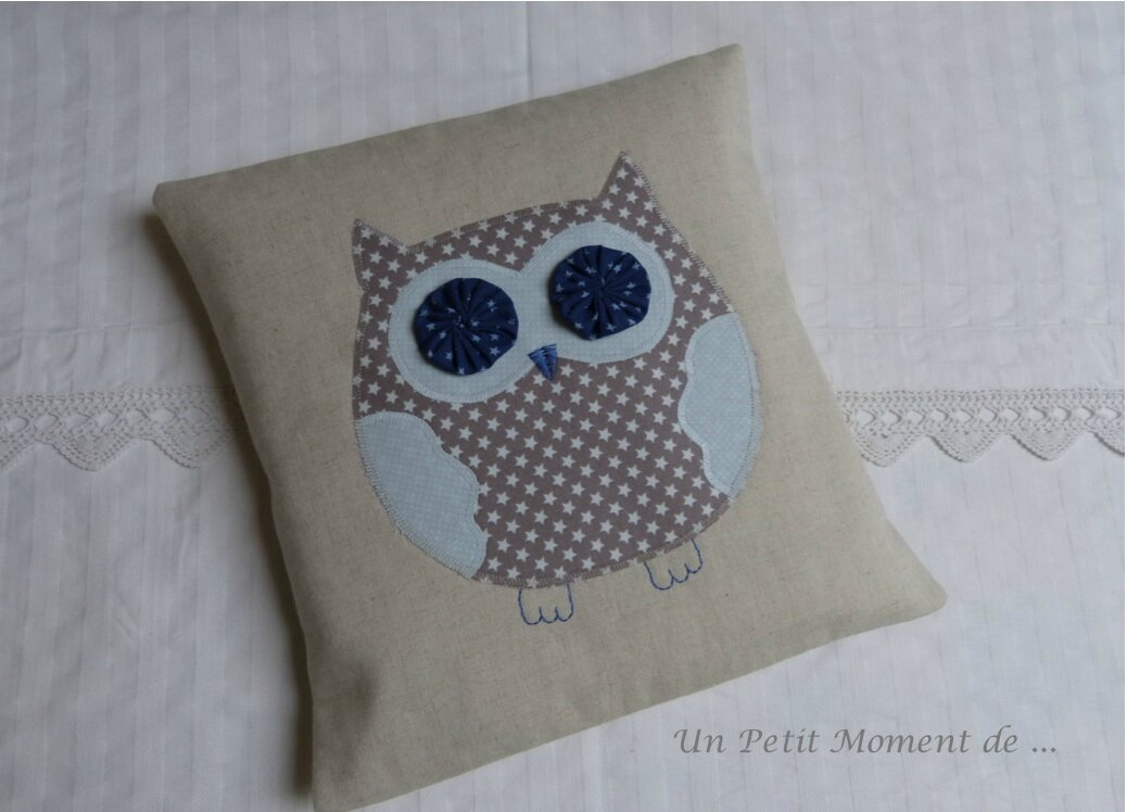 Coussin hibou 5