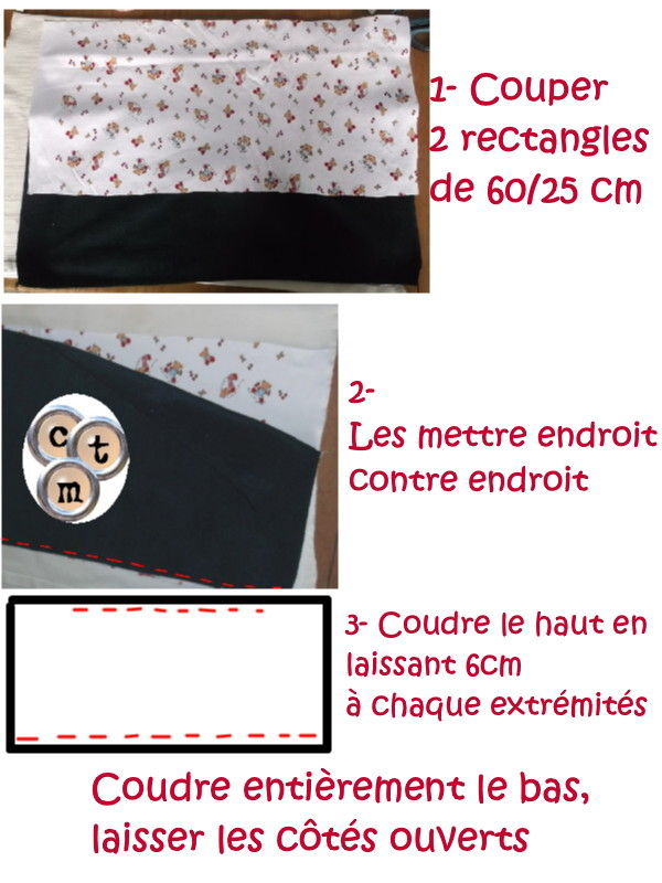 tuto snood bebe couture