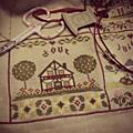 Maison d'août - calendrier de maryse