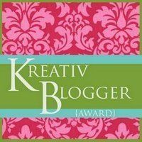 kreativ'blogger award