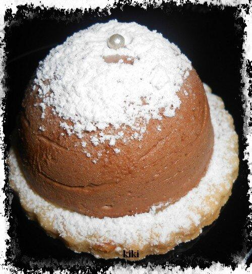 Tartelette mousse au chocolat