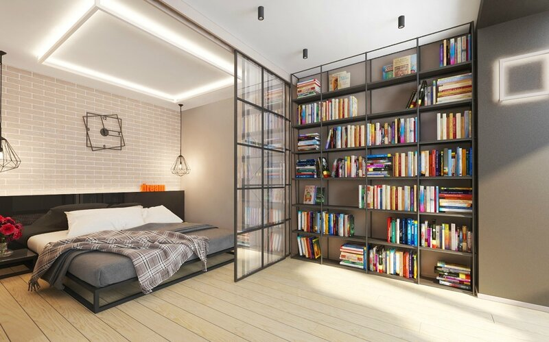 built-in-bookshelf