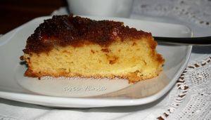 Gâteau aux bananes caramelisées 2