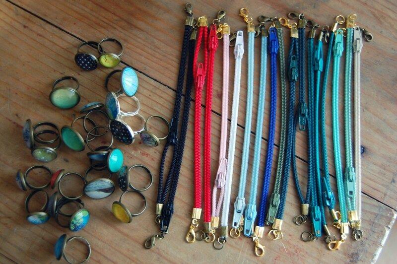 New rings & bracelets