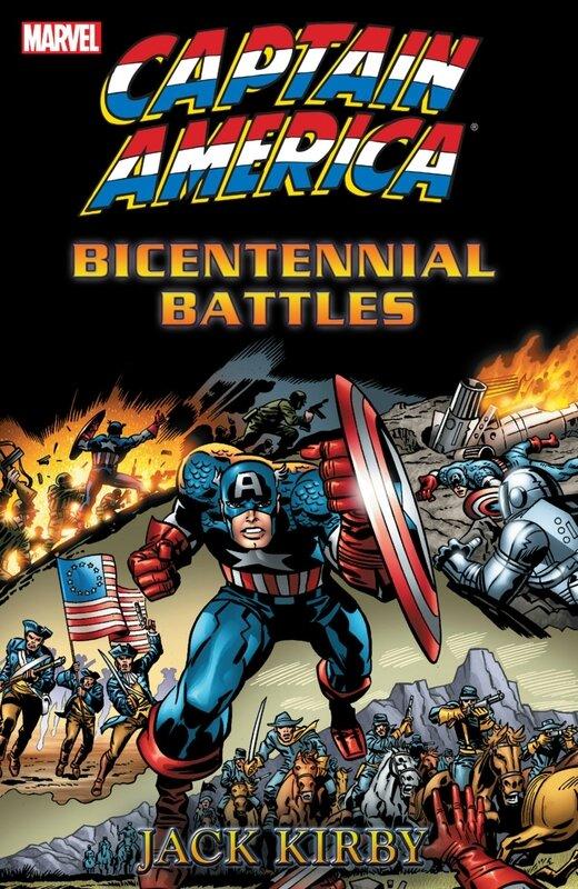 captain america bicentennial battles TP