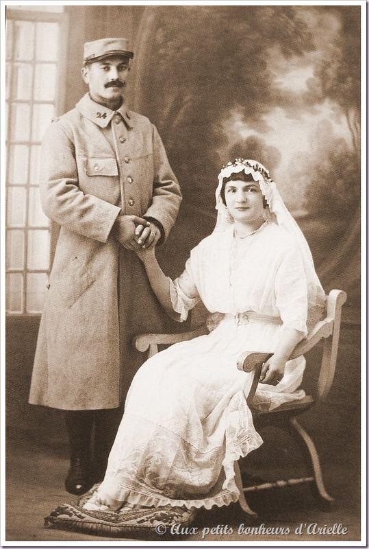 Le mariage au début du siècle (14)