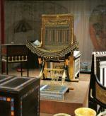Toutankhamon meuble chaise