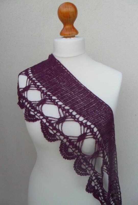 Becoming crochet _purple_ by Angele Lumiere