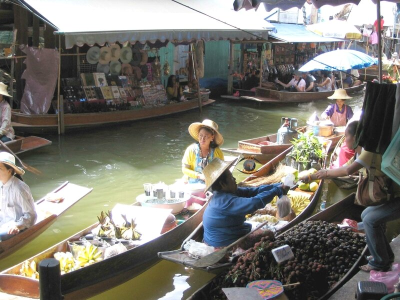 Damnoen Saduak 22 marché flottant