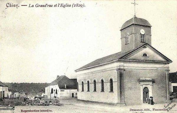 GA Chiny L Eglise 1829