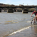 Crue quai de seine, Printemps, vlo_8664