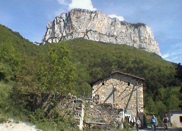 La Grande Cournouze 1110 m - Vercors