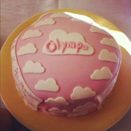 rainbow cake nuage Olympe
