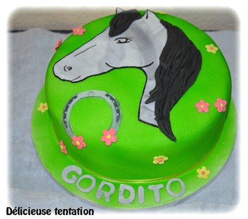 "Gâteau cheval ""Gordito"""