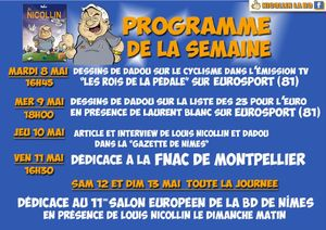 Programme de la semaine net