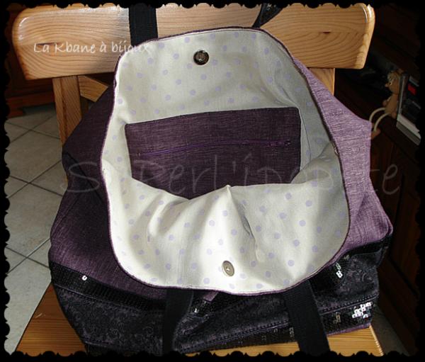 sac violet dentelle 1