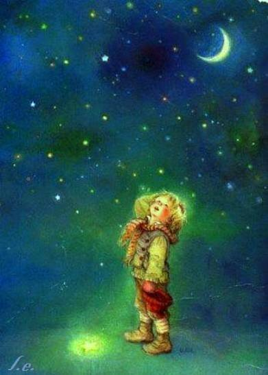 Le petit garçon et l'étoile