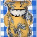 Des nounours en toile de jouy