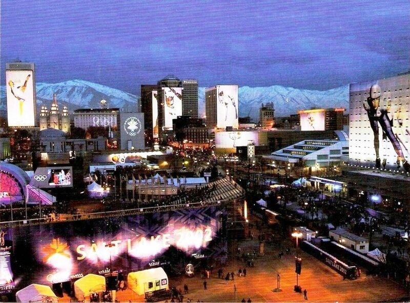 CPM Salt Lake City JO 2002 Nuit R
