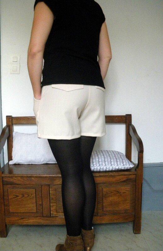Short Châtaigne lainage (2)