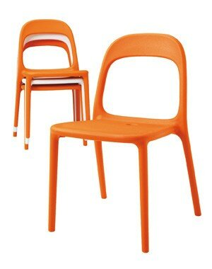 chaise orange urban. Black Bedroom Furniture Sets. Home Design Ideas