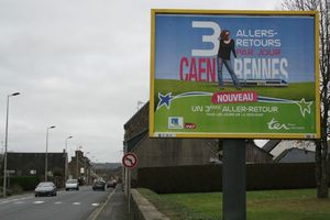 TER SNCF Caen Avranches Rennes