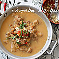 Ciorba de Burta: soupe de tripes  la roumaine