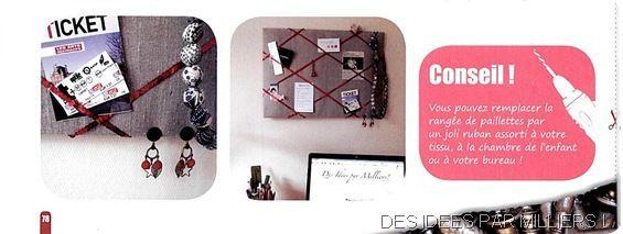 Créative magazine - n°8 - Novembre décembre 2012 - Des Idées Par Milliers - Fiche Créative verso