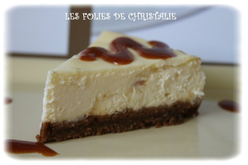 cheesecake au caramel au beurre sal thermomix ou pas les folies de christalie ou quand. Black Bedroom Furniture Sets. Home Design Ideas