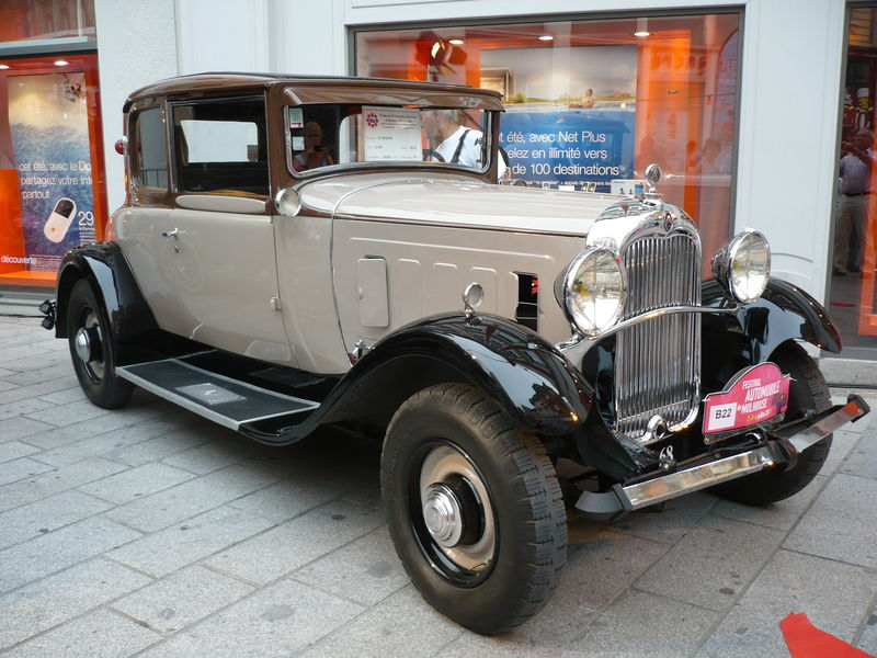 CITROËN C6G coupé 1932 Mulhouse (1)