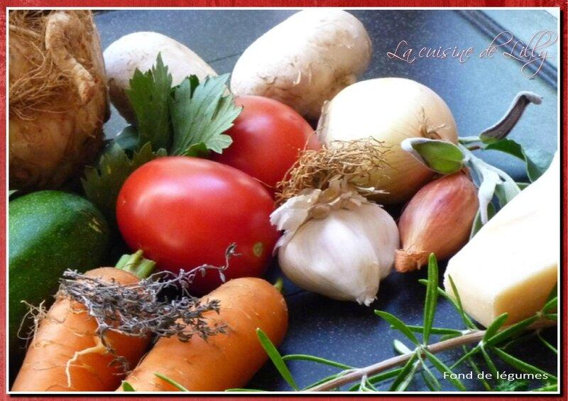 fond de légumes