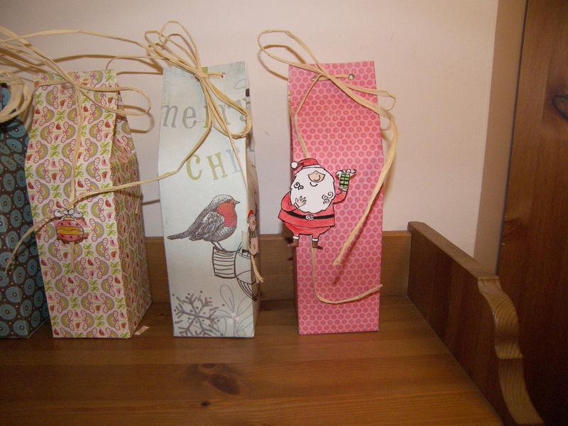 boites cadeaux garnies de truffes