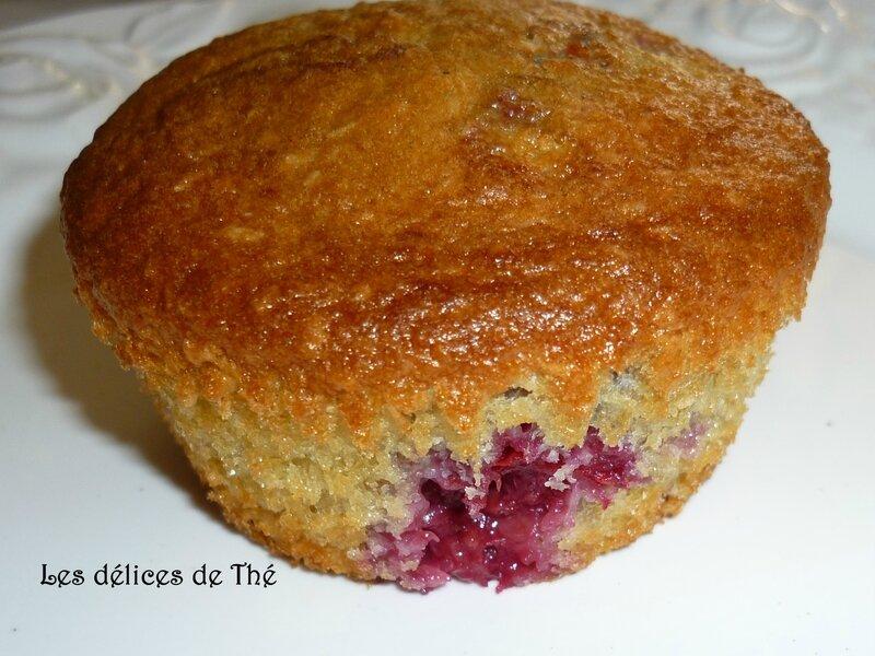 Muffin framboise noix de coco et pomme pépite chocolat façon gateau yahourt (22)