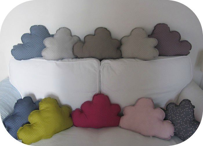 comment coudre un coussin nuage. Black Bedroom Furniture Sets. Home Design Ideas